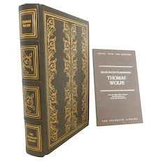 Thomas Wolfe Leather Bound Book Franklin Library