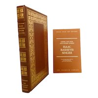 Isaac Bashevis Leather Bound Franklin Library