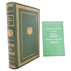 Edna Ferber Franklin Library Leather Bound Books