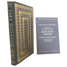 Jean-Paul Sartre Leather Bound The Wall and Other Stories