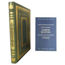 Damon Runyon Guys and Dolls Leather Bound
