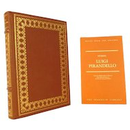 Luigi Pirandello, Stories Leather Bound Franklin Library