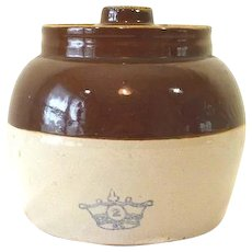 Vintage Bean Pot Pottery by Ransbottom Robinson,