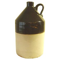 Stoneware Whiskey Moonshine Jug
