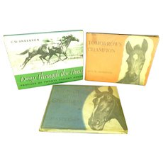 Vintage Horse Book 1940-1946 by C.W. Anderson