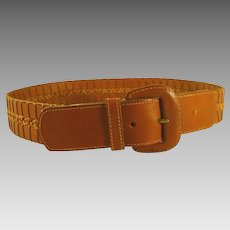Genuine Leather Belt - Unisex