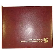First Day Cover Collection 1980,1981  Readers Digest