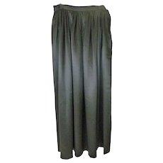 Ralph Lauren Silk Long Skirt Size 6