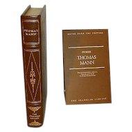Thomas Mann Leather Bound Gift Quality Book