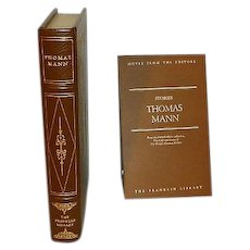 Thomas Mann Leather Bound Gift Quality Book