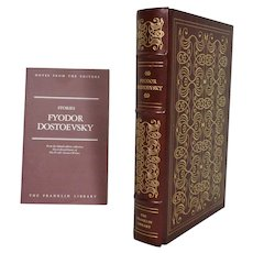 Fyodor Dostoevsky Stories Leather Bound Book
