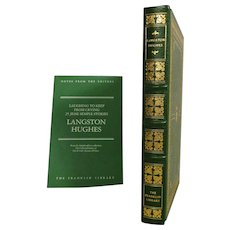 Langston Hughes Leather Bound Book Laughing to Keep From Crying