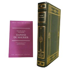 Daphne Du Maurier Leather Bound Book - Kiss Me Again, Stranger