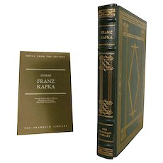 Franz Kafka The Complete Stories Leather Bound Book