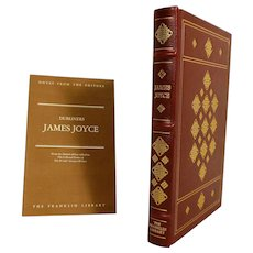 James Joyce Leather Bound Book Dubliners