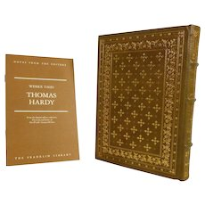 Thomas Hardy Leather Bound Book Wessex Tales