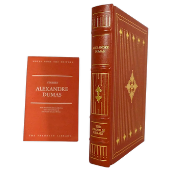 Alexandre Dumas Stories Leather Bound Book