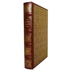 Dante The Divine Comedy Leather Bound Book