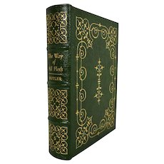 Samuel Butler  The Way of All Flesh Leather Bound Book
