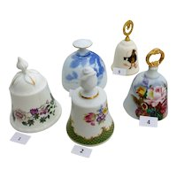 Fine Bone China Bells Danbury Mint