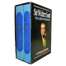 Sir Walter Scott The Great Unknown