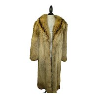 Finnish Raccoon / Racoon Coat Unisex Full Length