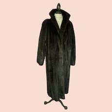 Canada Majestic Female MINK Coat Natural Black
