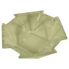 Mikasa Crystal 8 Point Bowl