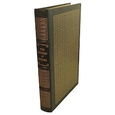 The Odyssey Of Homer (Ninth Century B.C.) Leather Bound Book