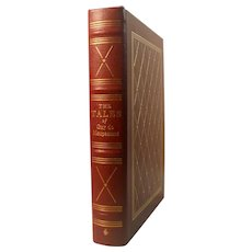 The Tales of Guy de Maupassant (1850 - 1893) Leather Bound