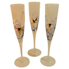 Cornet Barcelona Sagrada  Champagne Flutes