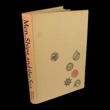 Nautical Collectible Men, Ships and the Sea Book