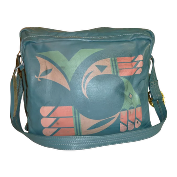 Leather Western Style Travel Bag