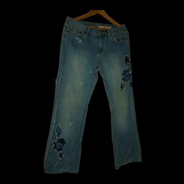 DKNY Retro Hippie Jeans Size 10