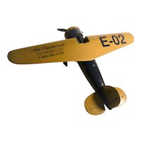 1932 Lockheed Vega Die-Cast Airplane