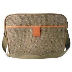 Hartman tweed travel bag.