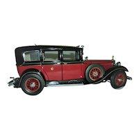1935 Die-cast 1:24 Mercedes Benz