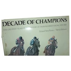A Decade of Champions Signed 1970-1980