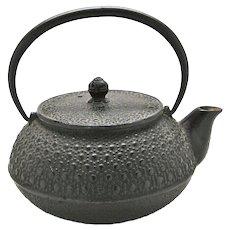 Vintage Japanese Tetsubin Cast Iron Tea Kettle
