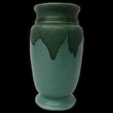 Roseville Carnelian I Art Pottery Vase