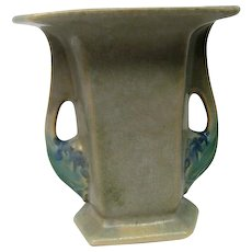 Roseville Two Handled Tuscany Art Pottery Vase