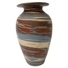 Niloak Mission Swirl Tall Pottery Vase