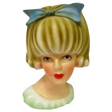 Doris Day Stunning Large Head Vase