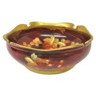 Hand Painted Pickard Currant Bowl