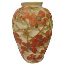 Large Phoenix  Consolidated Hand Painted Dogwood Vase