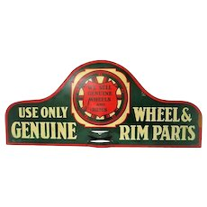 Metal Auto Advertising Double Sided Sign