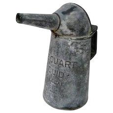 Vintage One Quart Service Station Oil Pour