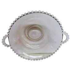Two Handled Crystal Candlewick Bowl