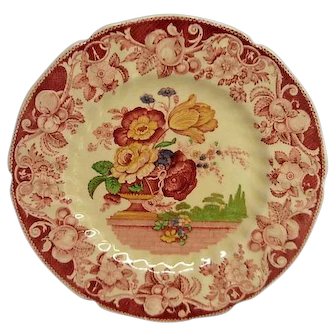 Royal Doulton Pomeroy Decorated Plate