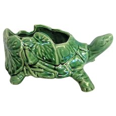 McCoy Green Turtle Planter